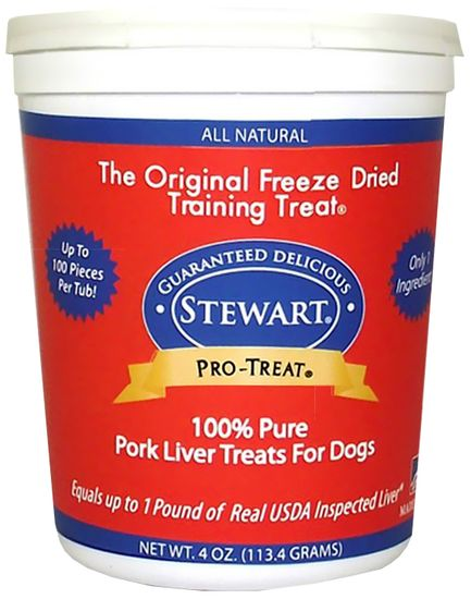 Stewart Freeze Dried - Pork Liver Treats (4 oz)