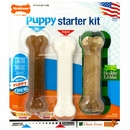 "Nylabone Puppy Starter Kit - 3 REGULAR Size Bones (4.5"")"