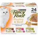 Purina Fancy Feast - Classic Poultry & Beef Variety Pack Canned Cat Food (24x3 oz)