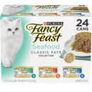 Purina Fancy Feast - Classic Seafood Variety Pack Canned Cat Food (24x3 oz)