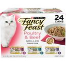 Purina Fancy Feast - Grilled Poultry & Beef Feast Variety Pack Canned Cat Food (24x3 oz)