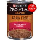 Purina Pro Plan Select - Beef & Peas Entr�e Canned Adult Dog Food (12x13oz)