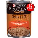Purina Pro Plan Select - Chicken & Carrots Entr�e Canned Adult Dog Food (12x13oz)