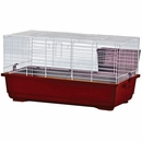 """Rabbit Cage - Red (24""""x13""""x13"""")"""