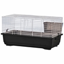 """Rabbit/Guinea Pig Cage Black Base with Black Wire Case of 4 (24""""x13""""x13"""")"""