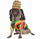 Rasta Dog Costume - Medium