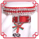 Rhinestone Dog Collars - Christmas Baby  (Medium)