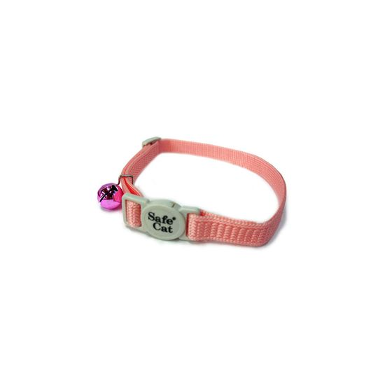 Safety First Break-Away Cat Collars - PINK