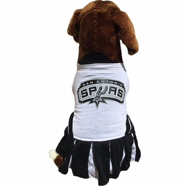 new arrival 644e9 39fdf San Antonio Spurs Dog Cheerleader Dress - Small