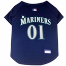 Seattle Mariners Dog Jersey - Large