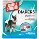 Simple Solution Disposable Diapers Medium (30 pack)