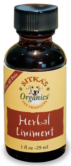 Sitka's Organics Herbal Liniment (1 fl oz)