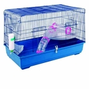 """Small Animal Lounge Cage Ferret Cage with Tubes (39""""x21""""x25"""")"""