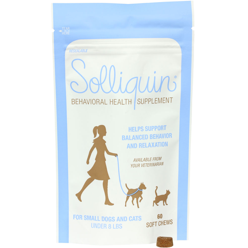 Solliquin Soft Chews For Small Dogs Amp Cats 60 Count