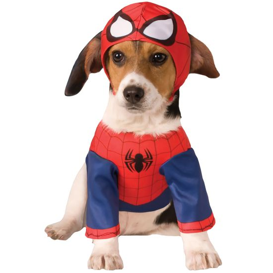 Spider-Man Dog Costume - Large
