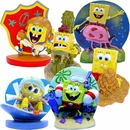 Spongebob Action Figures Aquarium Ornament Set