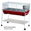 """Stand for RB120 White Small Animal Cage (47""""x23""""x26"""")"""