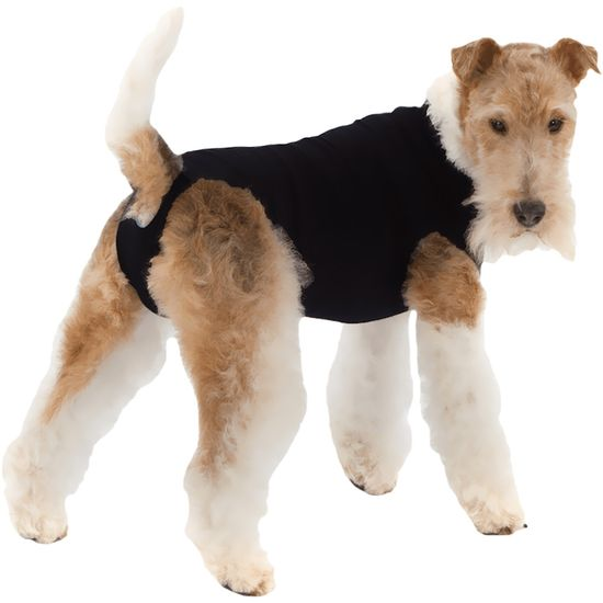 Suitical Recovery Suit for Dogs Black - Medium