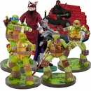 Teenage Mutant Ninja Turtles, Shedder, Splinter & Footclan Aquarium Ornament Set