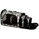 """The Excursion Small Soft Sided Travel Carrier - Black (12""""x8""""x8"""")"""