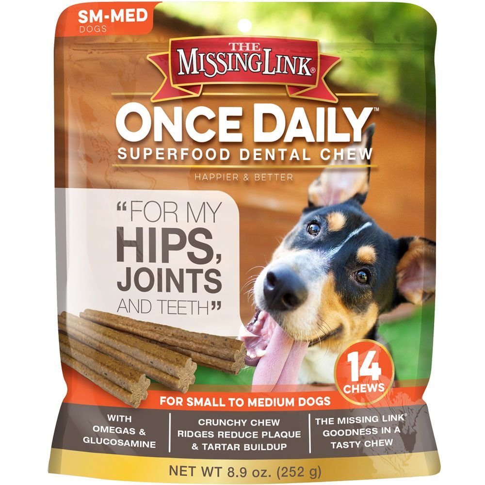 The Missing Link Once Daily Hip & Joint for Small/Medium