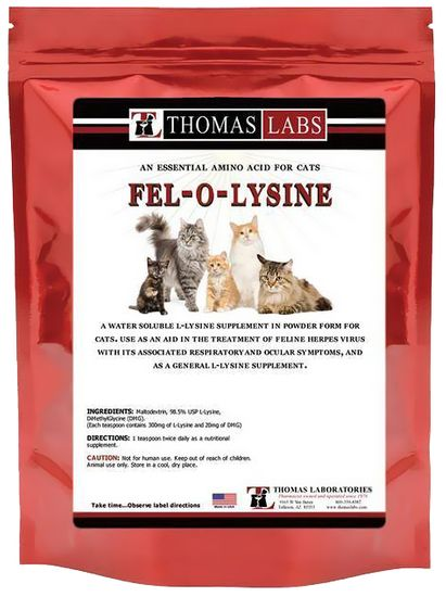 Thomas Labs Fel-O-Lysine Powder (8 oz)