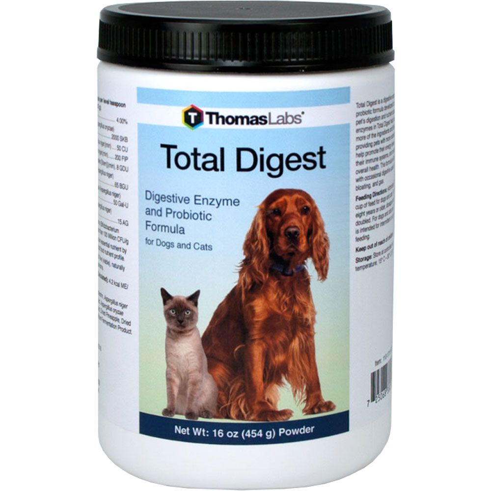 Thomas Labs Total Digest 16 Oz Healthypets