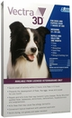 Vectra 3D BLUE for Dogs & Puppies 21-55 lbs - 6 Doses