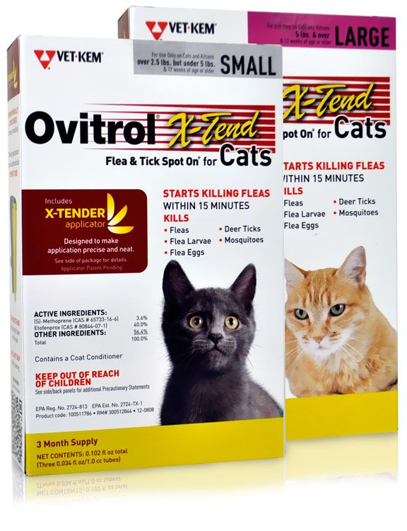 Vet-Kem Ovitrol-X Tend for Cats