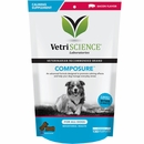 VetriScience Composure Calming Supplement for Dogs - Bacon Flavor (120 Bite-Sized Chews)