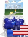 Wag Bags Dispenser Bone BLUE (30 Bags)