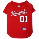 Washington Nationals Dog Jersey - Large