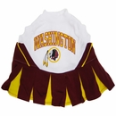 Washington Redskins Cheerleader Dog Dress - Small