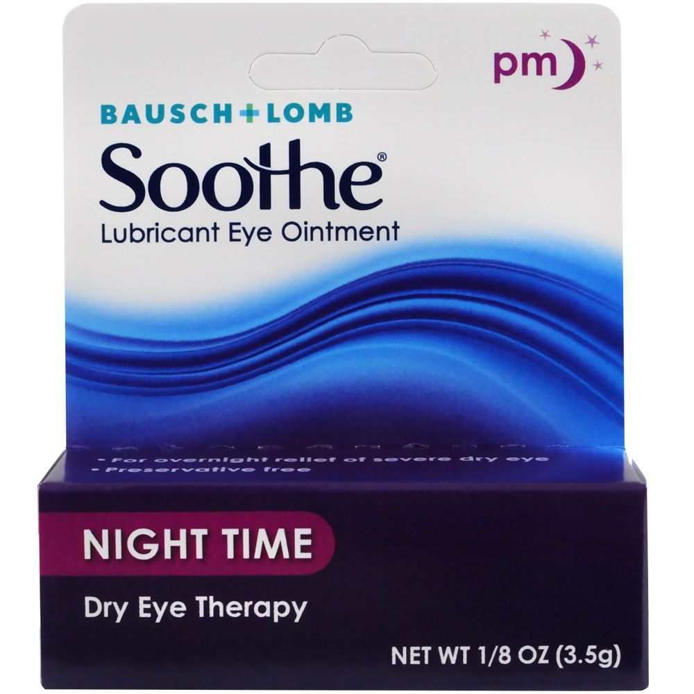 White Petrolatum & Mineral Oil Lubricant Ophthalmic Ointment
