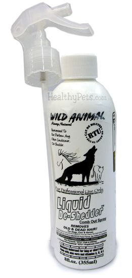 Wild Animal Liquid De-Shedder - 8 oz.