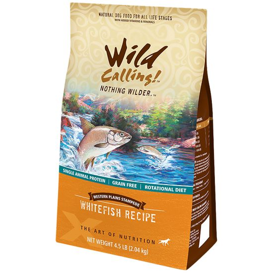 Wild Calling Western Plains Dog Food - Whitefish (4.5 lb)