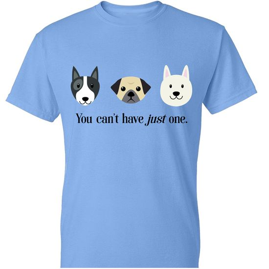 Women's T-Shirt - You Can't Have Just One - Medium (Carolina Blue)