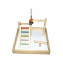 """Wood Tabletop Play Station (17""""x17""""x12"""")"""