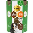 Yummy Combs Flossing Dental Treats for Dogs 51-100 lbs - Large (9 count)