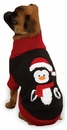 """Zack & Zoey Holiday Penguin Sweaters - L (20"""")"""