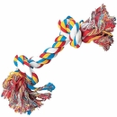 Zanies Two-Know Rompin' Rope Bone - 14""