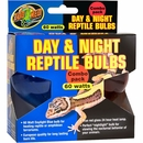 Zoo Med Day & Night Reptile Bulbs (60 watts)  - Combo Pack