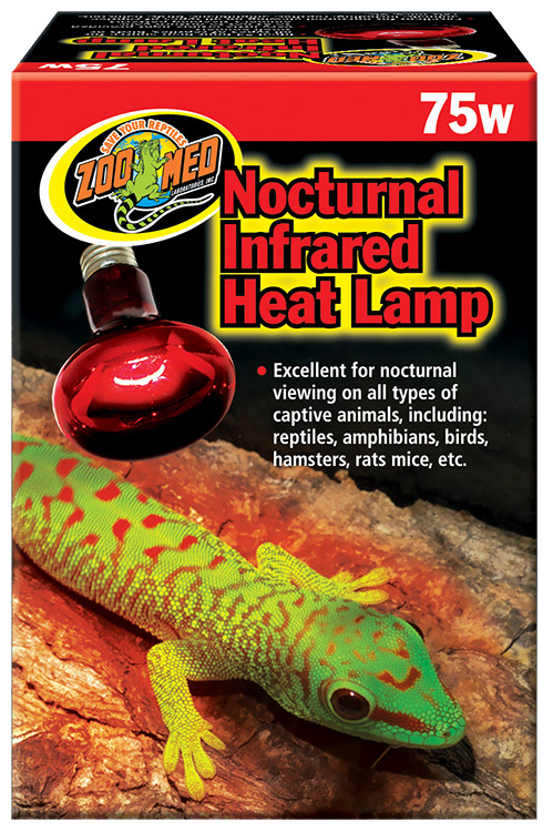 Quot Zoo Med Quot Nocturnal Infrared Heat Lamp
