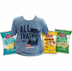 All That And A Bag Of Chips Tee<br> Shirt Gift Pack