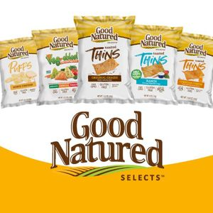 Good Natured Baked Multigrain/Veg-able Crisps and Popped Chips- Check out the flavors!