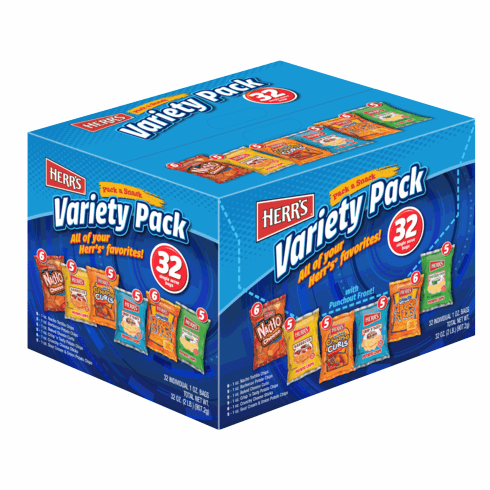 Herr's® 32 COUNT VARIETY PACK
