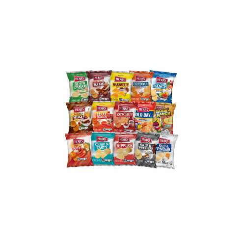 Herr's® Assorted Potato Chips - 1 oz (84 bags)