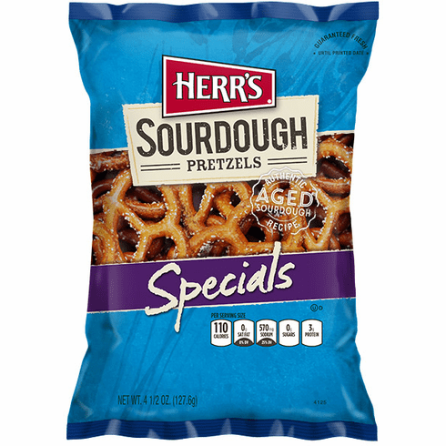Herr's® Assorted Pretzels 3.75 oz. to 5.5 oz. (20 bags) per case