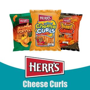 Herr's® Cheese Curls and Crunchy Cheese Stix