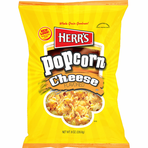 Herr's® Cheese Popcorn - (9) 7.0 oz bags per case
